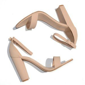 Ankle Strap High Heels Sandals Size 9